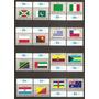 Naciones Unidas Serie Banderas Yvert N°416/31 Mint U$s50.-