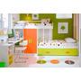 Dormitorio Infantil Con Cama Deslizante