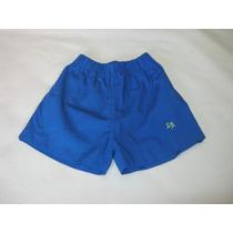 Pantalon Corto Uniforme Jardin Colores Primarios Talle 2