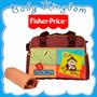 Bolso Y Morral Futura Mama Fisher Price Para Bebe. Pañalero