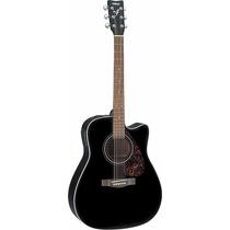 Guitarra Electroacústica Yamaha Fx370c Fx370 Black Nueva