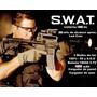 Linterna Táctica, Para Uso Profesional, Unica De Acero Swat