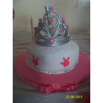 Adorno De Torta De Corona Para Las Princesas!!
