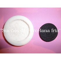 Moldes De Silicona Flexible Galletita Oreo,sonrisa,merengada