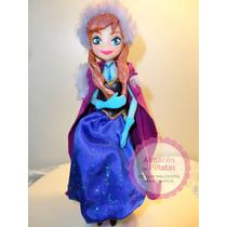 Adorno Torta Anna, Frozen Disney Para Cumples Infantiles