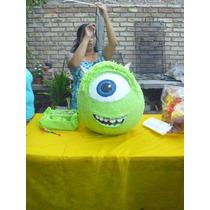 Piñata Tipo Mexicana De Mike Wazowski