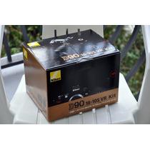 Camara Nikon D90 Caja Completa La Mas Barata De Mercadolibre