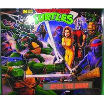 Flipper Fliper Pinball Tortugas Ninjas Funcionando !