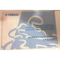 Manual Usuario Yamaha Blaster 200