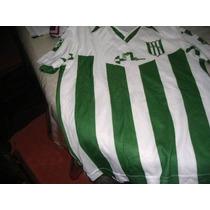 Conjunto De Camiseta Banfield El Taladro Medias Y Porta Boti