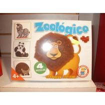 Puzzle Zoológico Don Rastrillo Rompecabezas 16 Y 25 Piezas