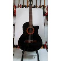 Guitarra Electro Criolla Marca Lugareña