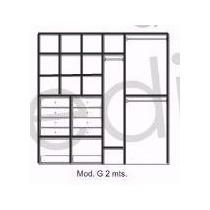 Modulo G Interior De Placard 200x200x45 Color A Eleccion