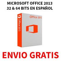Microsoft Office 2013 32 & 64 Bits + Project+ Visio (1 Dvd)