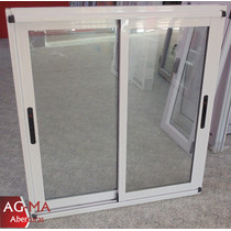 Aberturas Ventana Modena Aluminio Vidrio Dvh 1.80 X 90 Agma