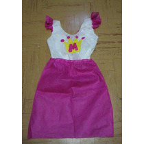 Vestido De Princesa Infantil En Friselina