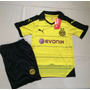 Conjunto Borussia Dortmund Niños Importado Camiseta Short