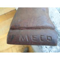 Monje Tallado En Madera Dura-firmado Meco