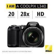 Camara Semiprofesional Nikon L340 20 Mpx