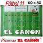 Pizarra Táctica Pizarrón Magnético 60x80 Entrenador Fútbol