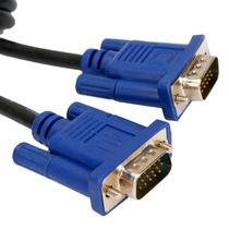 Cable Vga A Vga 3 Metros Coaxilado Con Filtro Alta Calidad