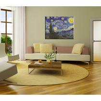 Bastidor Noche Estrellada Van Gogh 80x63 En Lienzo