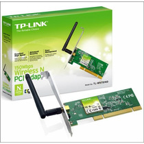 Placa De Red Pci Wifi Tp Link Tl-wn751nd 150m 2.4ghz 1 Anten