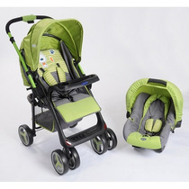 Coche Kiddy Zap Travel System Rebatible / Open-toys Avellane