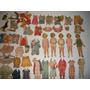 Muñecas Shirley Temple Papel Con Ropa Y Accesorios 2 Tamaños