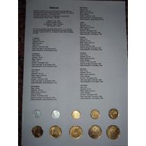 Lote De Coleccion Monedas Pesos Ley 18.188