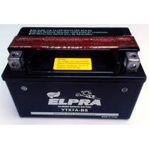 Bateria Para Moto Ytx7a-bs Marca Elpra