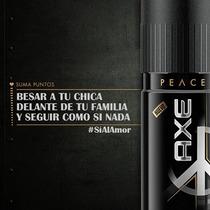 Lata Desodorante Axe Peace Edicion Argentina/sin Estrenar