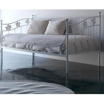 Cama otomana o divan de hierro todo para tu dormitorio for Divan 1 plaza