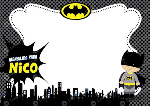 Tarjetas De Batman Cumpleaños Imagui