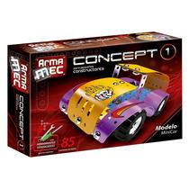 Armamec Juegos Didacticos Armar Auto Encastre Microcentro