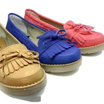 Mocasin Clasico Con Flecos Zapatos Mocasines Nueva Temporada