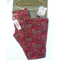 Rapsodia Pantalon Oxford Medio Apliques S/ Elastizado T:27
