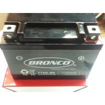 Bateria Original Bronco Ytx4lbs Tecnologia Agm Libre Mant