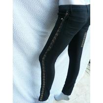 Pantalon Tipo Jean Con Tachas Ricky Sarkany Una Belleza