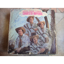 Long Play Disco Vinilo Cuarteto Imperial Uno Dos Tres 1 2 3