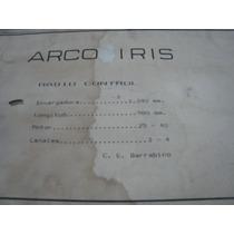 Kit De Avion Arco Iris