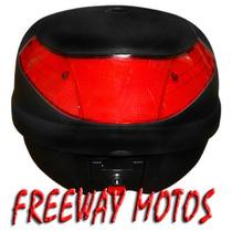 Baul Moto Okinoi 35 Lnegro Para Un Casco En Freeway Motos !