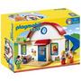 Educando Playmobil Línea 1-2-3 Casa Con Familia 6784