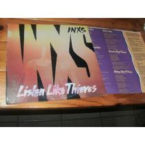Inxs Listen Like Thieves Vinilo Usa Lp Orig S/interno1985