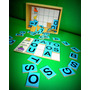Bingo De Letras 65 Piezas Madera Didáctico Material Didáctic