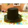 Sombrero Confeccionado En Paño Lenci En Color Negro-tango