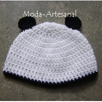 Gorro Orejas Panda Minion Mike Wasowsky Lechuza Buho Crochet