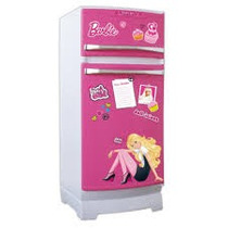 Heladera Violetta Barbie Princesas Tv+acces / Open-toys Avel