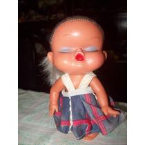 Muñeca Antigua De Goma