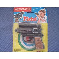 Revolver Silenciador Tira Balines Retro Automatic Pistol